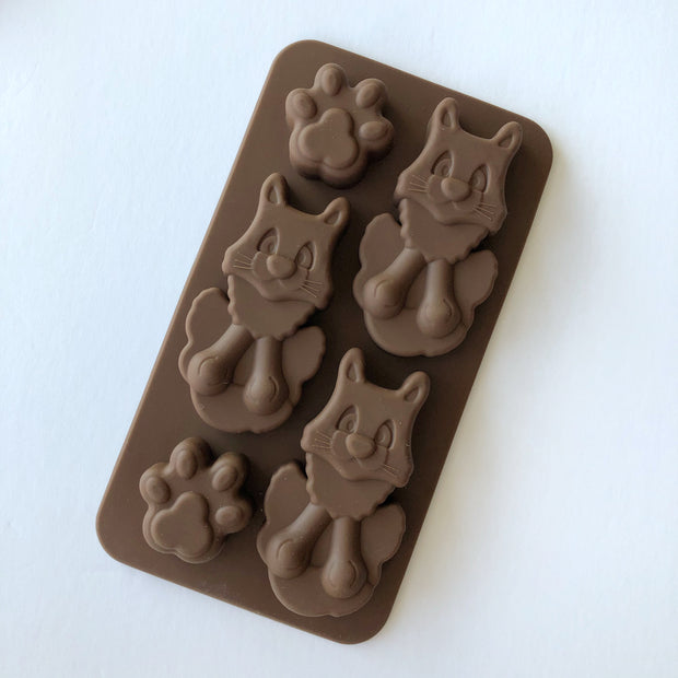 Cats Silicone Chocolate Mould
