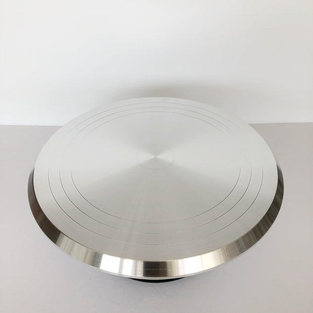 "12"" Aluminum Turntable"