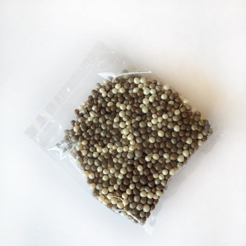 Chocoa Silver/Gold Chocolate Crispy Pearls 100g