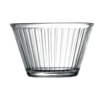 Fluted Glass Ramekins, 6oz