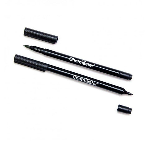 Chefmaster Black Decorating Pen 2Pk