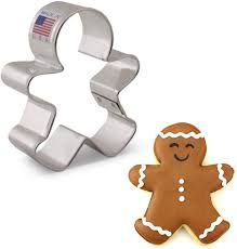 Gingerbread Man Cutter 3 3/4""