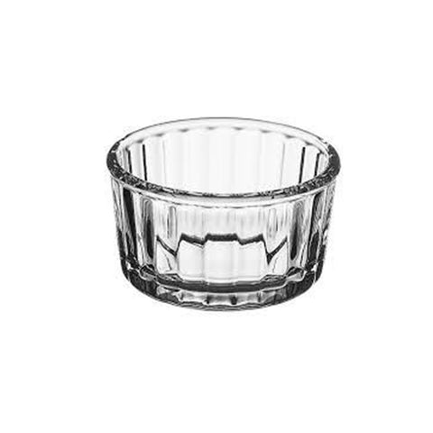 Fluted Glass Ramekins, 4.25oz
