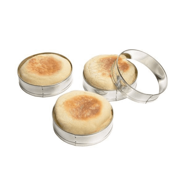 English Muffin Rings, Set Of 4