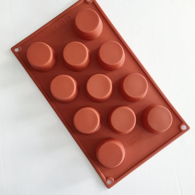 Silicone Mould, 11 Deep Round