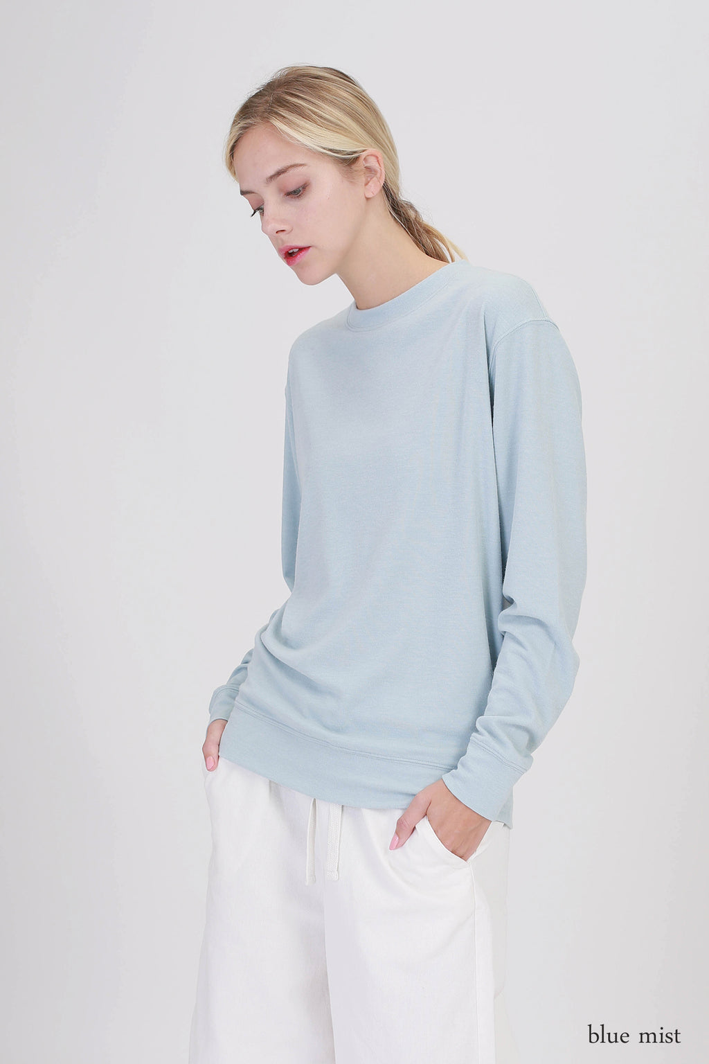 Drop Long Sleeve Sweatshirt