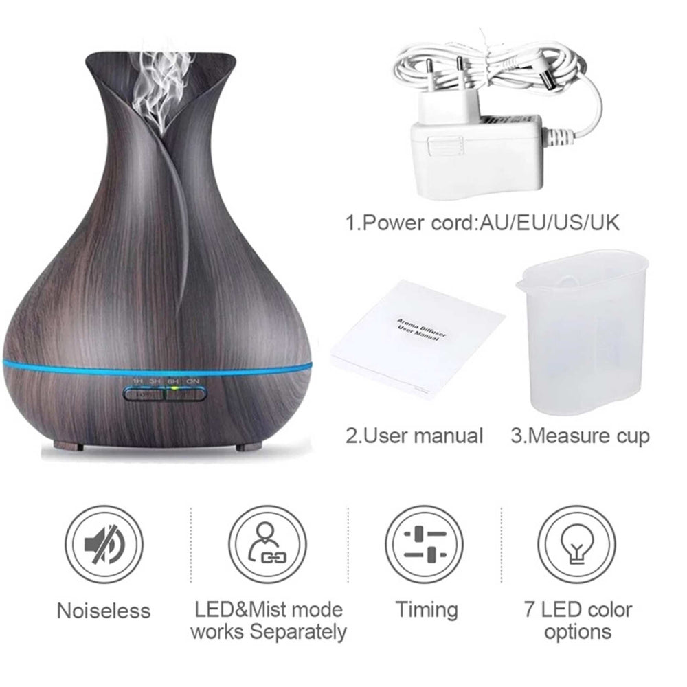 Ultrasonic Cool Mist Electric Aroma Diffuser | AD-400 | Aromatherapy