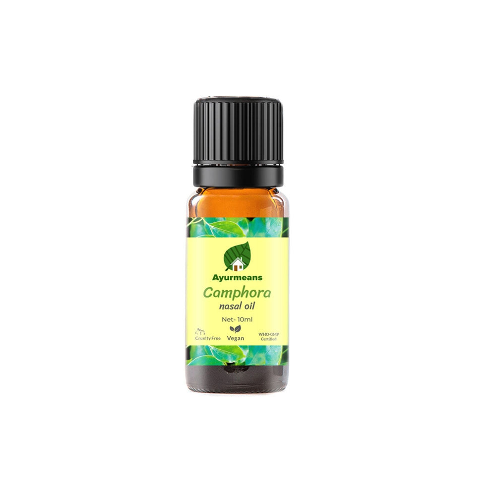 Camphora nasal oil | Herb-infused | Ayurvedic Nose Oil | Kapoor