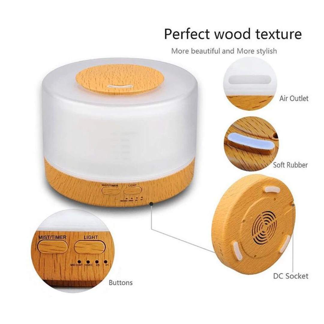 Ultrasonic Aroma diffuser/Humidifier – Bluetooth Speaker V4.0 Wireless | Aromatherapy