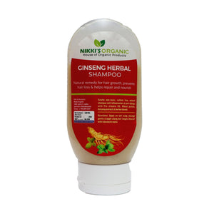 Ginseng Herbal Shampoo | Men & Women | Organic