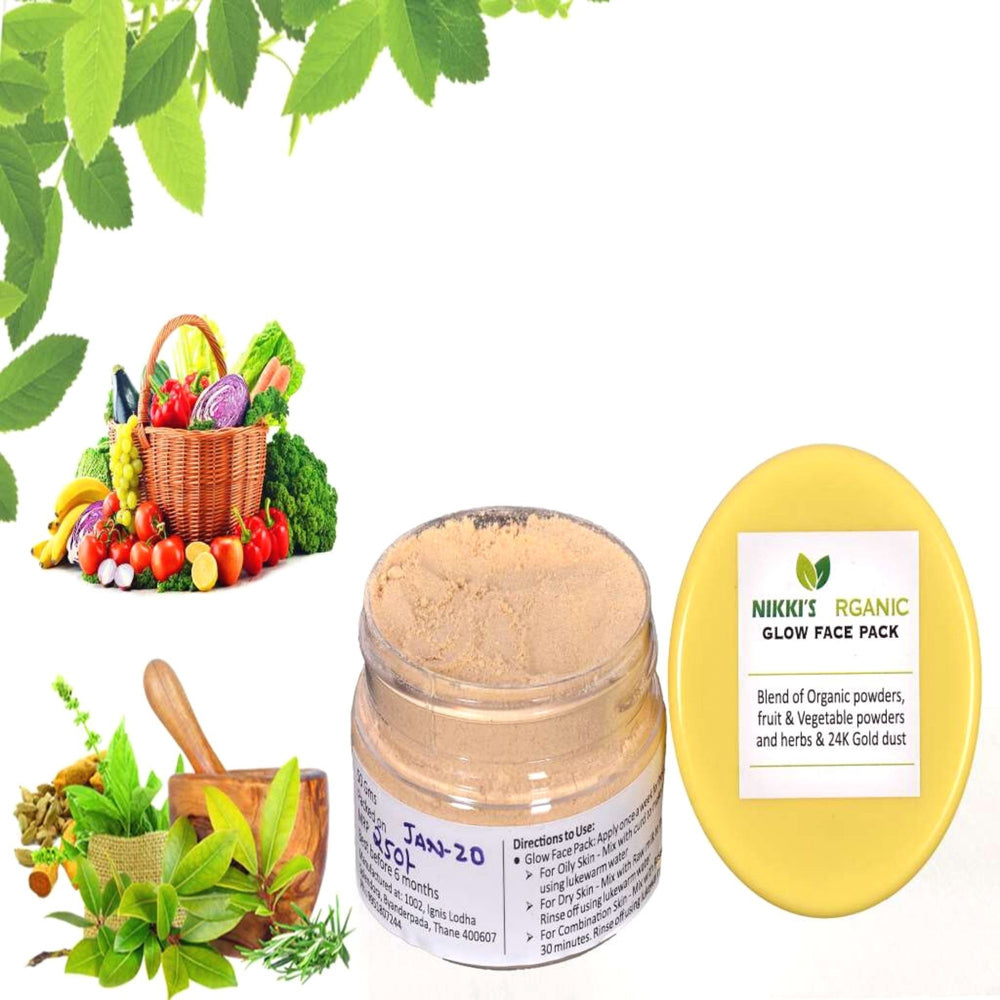 Glow Face Pack - Herbal | Skin Care | Step By Step