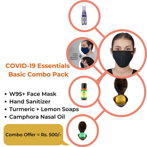 Safety Essentials Basic Combo Pack | Made in India-Ayurmeans