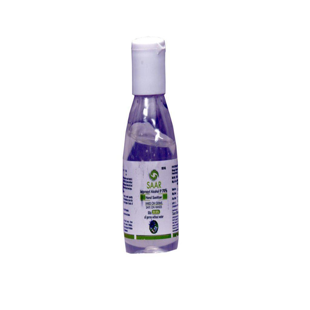 Hand Sanitizer - 70% IPA - 100 ML - Kills Viruses & Bacteria-Ayurmeans