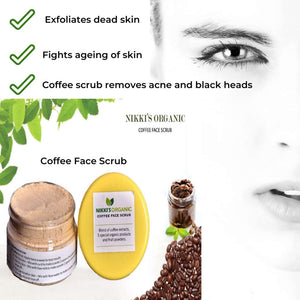 Herbal Coffee Face Scrub | Skin Care | Step By Step-Ayurmeans