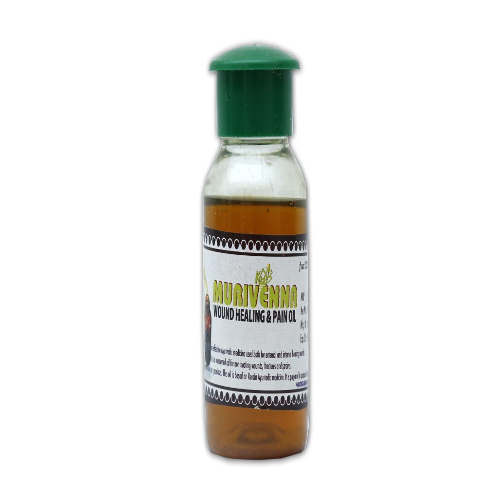 Natural Wound & Pain Oil 50 GM Ayurmeans