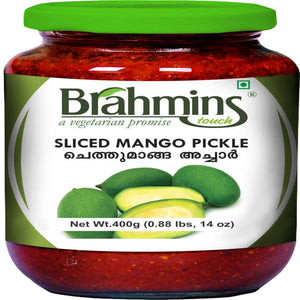 Sliced Mango Pickle | Jar | 300 GMS-Ayurmeans