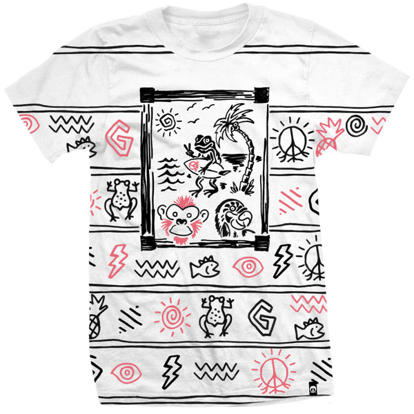 Gnarly - Gnarly Buffet Wht S/S Tee