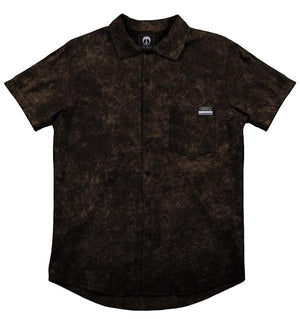Gnarly - Acid Black Woven Shirt