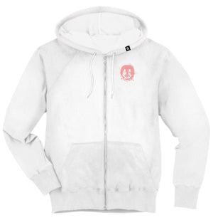 Gnarly - Smile Forest Zip Hood Wht