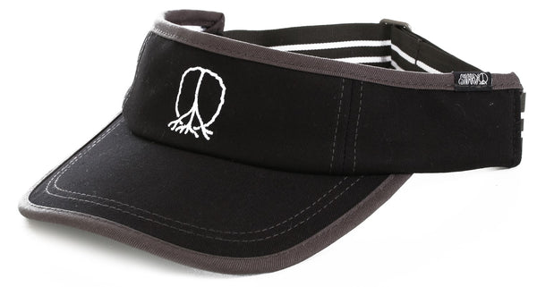 Gnarly - Bill Mickelson Visor - Black