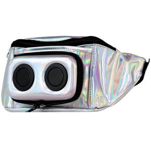 Jammypack - Silver Hologram Fannypack