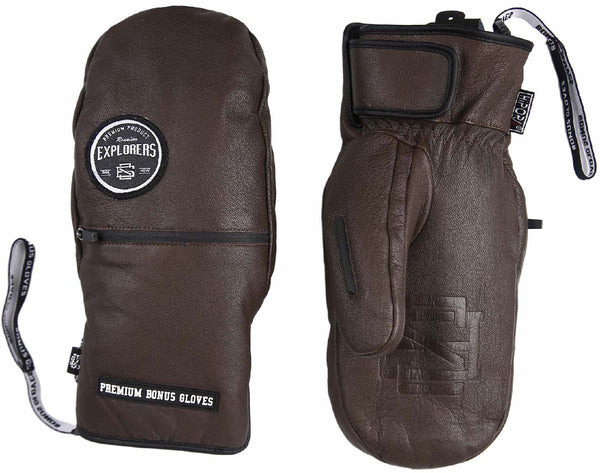 Bonus Gloves - Brown Leather