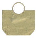 Metallic Bag with Round Edge Handle