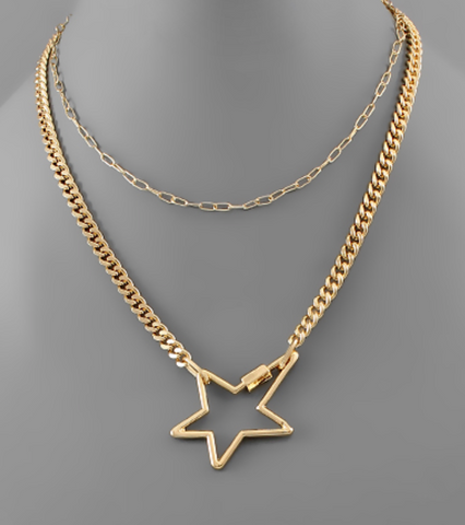 Star Carabiner Layer Choker