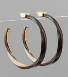 Acrylic Capped Hoops