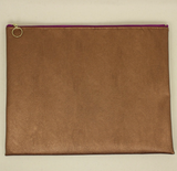 Vegan Leather Pouch Large