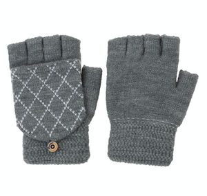Fingerless Knit with Finger Cover