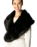 Full Faux Fur Stole Collar