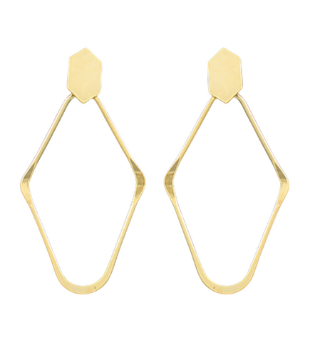 Hexagon & Rhombus Earrings