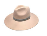 Wool Felt Hat with Band