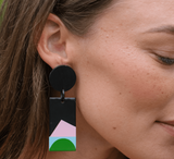 Neon Moon Cabana Earrings