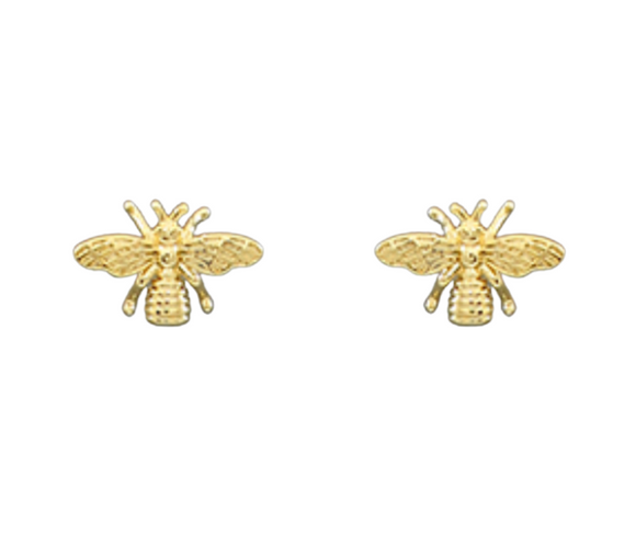 Bee Gold Dipped Earrings