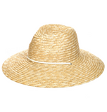 Straw Braid Fashion Sun Hat (Ivory Color)