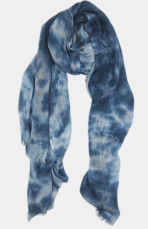 Clouds Tie Dye Sarong