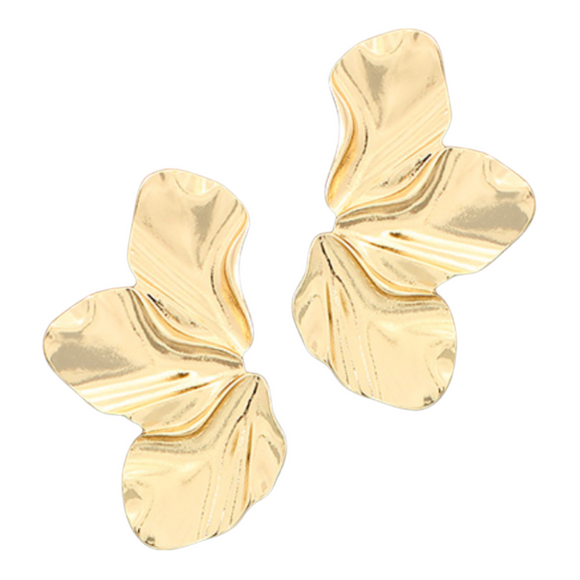 Wavy Petal Earrings