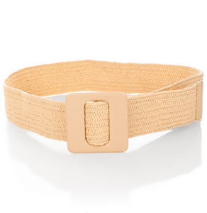 Square Acrylic Buckle Belt