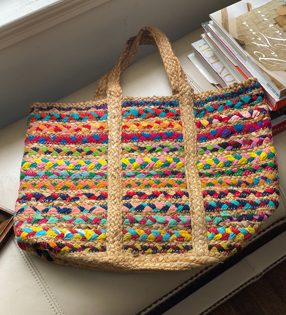 Straw Braided Bag