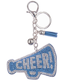 Cheer Megaphone Key Chain