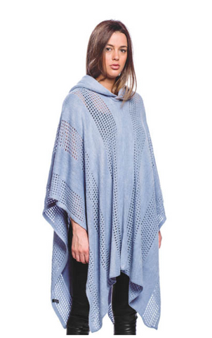 Soft Hooded Poncho