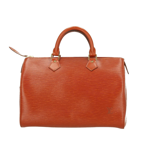 Louis Vuitton Brown Epi Leather Speedy 30 Handbag