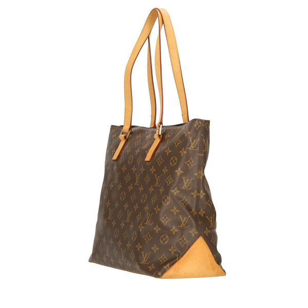 Louis Vuitton Monogram Cabas Mezzo Shoulder Bag