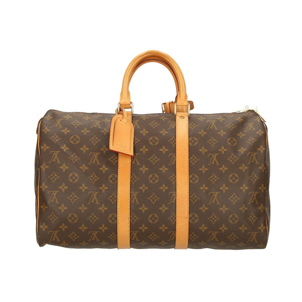 Louis Vuitton Monogram Keepall 45 Travel Bag