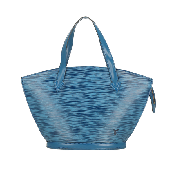 Louis Vuitton Blue Epi Leather Saint Jacques PM Shoulder Bag