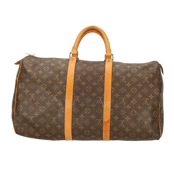 Louis Vuitton Monogram Keepall 50 Travel Bag