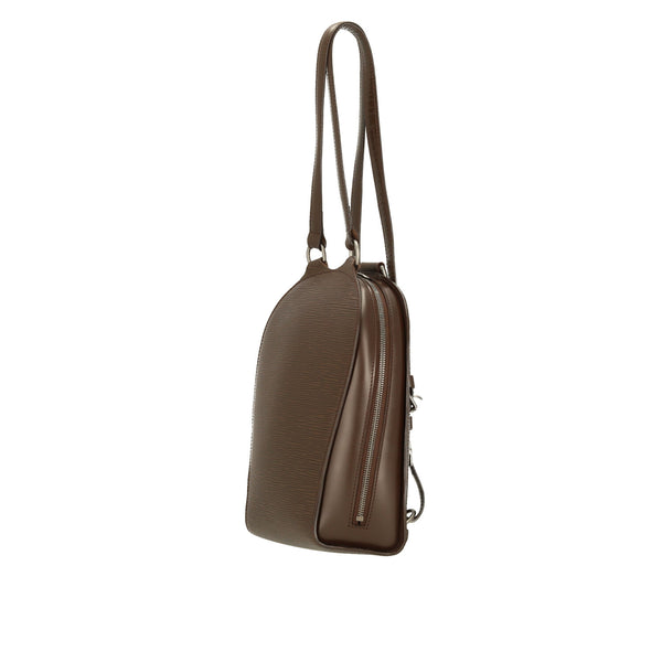 Louis Vuitton Mocca Epi Leather Mabillon Backpack