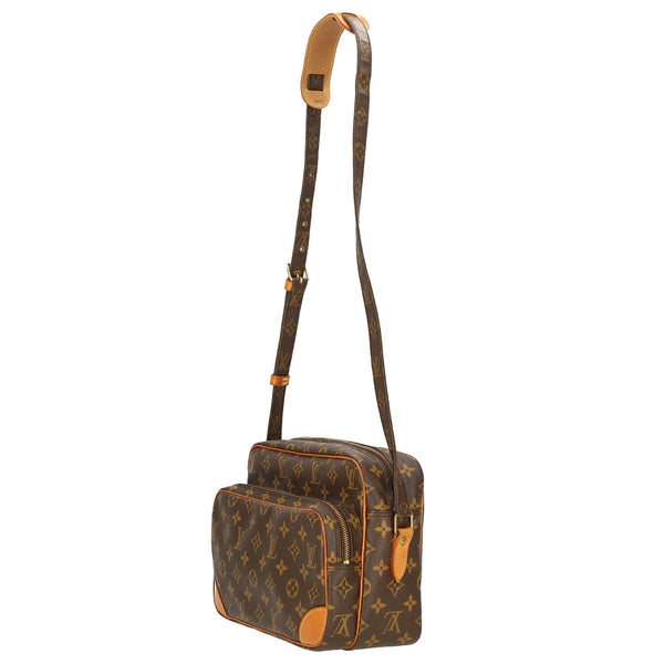 Louis Vuitton Monogram Nile MM Shoulder Bag